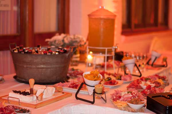 catering casamiento formal gourmet